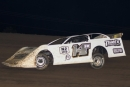 Quentin Myers won July 21's Tri-State Late Model Series event at Wagner (S.D.) Speedway. (Jamie Hoefert)