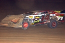 David Ashley heads toward a $15,000 victory in the 2005 Jambalaya 100 at Pike County Speedway in Magnolia, Miss. (Todd Turner)