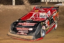 Rusty Griffaw heads to victory Friday at Belle-Claire. (Rich LaBrier)