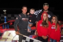 Bryce Davis collected $5,000 for winning Aug. 24's Super Late Model special at Hidden Valley Speedway in Clearfield, Pa. (Derek Bobik)