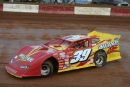 Tim McCreadie won Challenger Speedway's annual Spring Fest on April 2, 2006, taking the lead from Davey Johnson with five laps remainig for a $5,000 triumph. (Matt Gleson)