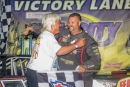 Rusty Griffaw won his first Tri-City Speedway in Granite City, Ill., feature Sept. 20 in Super Late Model action. (stlracingphotos.com)