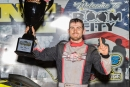 Ben Watkins earned $15,000 for his Oct. 12 Cash Money 100 victory for Limited Late Models at Fayetteville (N.C.) Motor Speedway. (jbhotshots.com)
