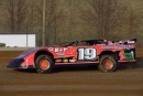 Timmy Yeager tunes up at Brownstown Speedway before winning the 2001 Indiana Icebreaker. (rickschwalliephotos.com)