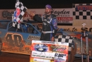 Home-state driver Kyle Bronson earned $7,000 for Saturday's Durrence Layne-sanctioned Southern 100 at Southern Raceway in Milton, Fla. (impactzonephotos.com)
