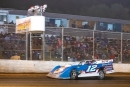 Ashton Winger takes the checkers Nov. 16 at Whynot Motorsports Park in Meridian, Miss., for his $15,000 Coors Light Fall Classic victory. (R. Victory Photography)