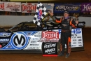 Chris Madden earned $5,000 on Dec. 7 for his Drydene Xtreme DIRTcar Winter Series event at Volunteer Speedway in Bulls Gap, Tenn. (mrmracing.net)