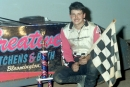 Billy Drake of Bloomington, Ill., captured a $5,000 UMP Outlaw Nationals victory at Clarksville (Tenn.) Speedway on Oct. 4, 1998 to wrap up his first career Late Model racing title. It was his second win on the 10-race miniseries. (Todd Turner)