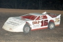 Randy Dunn of Fayetteville, Tenn., heads toward a $3,000 victory in the Winchester Shootout at Winchester (Tenn.) Speedway on Nov. 7, 1998. (Todd Turner)
