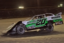 Jimmy Owens of Newport, Tenn., heads to his first career DIRTcar Natioanals victory Thursday at Volusia. (Jim DenHamer)