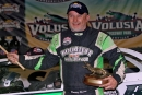 Jimmy Owens won the Feb. 14 DIRTcar Nationals feature at Volusia Speedway Park in Barberville, Fla., for his second straight World of Outlaws Morton Buildings Late Model Series victory. (Jim DenHamer)