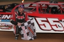 Donald Lingo Jr. captured March 14's Super Late Model feature at Port Royal (Pa.) Speedway. (Rick Neff)