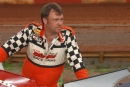 Phil Coltrane at Dixie Speedway in 2003. The Free Home, Ga., driver died March 26, 2020, of complications following a stroke. (Brian McLeod/Dirt Scenes)