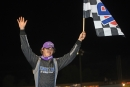 Wil Herrington credited his team's engine swap with helping him to a May 25 Crate Racin' USA Series victory at Cochran (Ga.) Motor Speedway. (Brian McLeod/Dirt Scenes)
