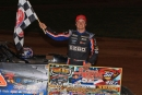 Cory Hedgecock earned $10,052 for May 24's Schaeffer's Iron-Man Late Model Series victory at 411 Motor Speedway in Seymour, Tenn. (wellsracingphotos.com)