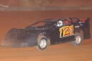 Benji Cole of Canon, Ga., heads to victory during Carolina Clash Super Late Model Series action at Thunder Valley Speedway in Lawndale, N.C., on May 12, 2006. (Brian McLeod)