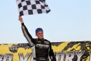 Payton Looney won his second straight Lucas Oil Midwest LateModel Racing Association feature July 5 at the Bullring at RICo Fairgrounds in East Moline, Ill. (mikerueferphotos.photoreflect.com)