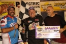Jeff Aikey won July 11's Late Model feature at Hamilton County Speedway in Webster City, Iowa. (Jodie Casey)