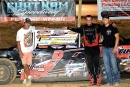 Mike Palasini Jr. won his third career Mississippi State Championship Challenge Series victory Aug. 8 at Chatham (La.) Speedway. (Best Photography)