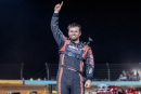 Cade Dillard celebrates Saturday's $7,000 Mississippi State Championship Challenge Series victory at Revolution Park in Monroe, La. (Chris McDill)