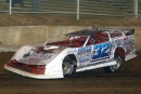 Bobby Pierce heads for a $5,000 victory in Florence Speedway's unsanctioned feature Thursday night. (Todd Battin)