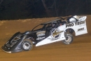 Freddie Carpenter heads for a $3,000 victory in Saturday's unsanctioned event at Ohio's Atomic Speedway. (Tyler Carr)
