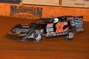 Dale McDowell heads toward his third Southern All Stars victory of the season during Friday's weekend opener at Smoky Mountain Speedway. (Michael Moats)
