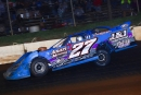 Jadon Frame heads to a Nov. 21 victory at Duck River Raceway Park in Wheel, Tenn., in the Deep Fried 75. He earned $3.000. (joshjamesartwork.com)