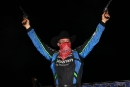 Jonathan Davenport celebrates his second Wild West Shootout victory of 2021. (mikerueferphotos.photoreflect.com)