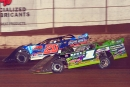 Tyler Erb (1) outdueled Ricky Thornton Jr. (20rt) on Jan. 15 at FK Rod Ends Arizona Speedway for a $5,000 Keyser Manufacturing Wild West Shootout victory. (photofinishphotos.com)