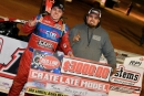 Sam Seawright collected $3,000 for his United Championship Racing Alliance victory at Fort Payne (Ala.) Motor Speedway. (Zackary Washington/Simple Moments Photography)