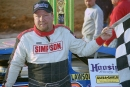 Wendell Wallace drove the GRT house car to a 75-lap, $15,000 victory in the Southern All Stars-sanctioned Bama Bash at Green Valley Speedway in Glencoe, Ala., on Feb. 24, 2002. (Todd Turner)