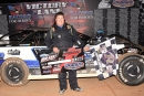 Dalton Jacobs earned $1,500 for Feb. 27's Mid-East 602 Crate Late Model tour victory at Fayetteville (N.C.) Motor Speedway. (redclayrebel.smugmug.com)