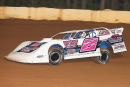 Tyler Stevens topped a 20-car field April 2 at Sabine Motor Speedway in Many, La., in the Crate Late Model division. (ronskinnerphotos.com)