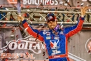 Josh Richards earned $10,000 with April 9's World of Outlaws Morton Buildings Late Model Series victory at Bristol (Tenn.) Motor Speedway. (Tyler Carr)