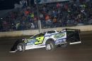 Brian Shirley raced to a $3,000 DIRTcar Nationals victory April 9 at Lincoln (Ill.) Speedway. The race was a makeup of last year's postponed Fall Nationals. (brendonbauman.com)