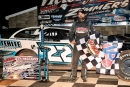 Gregg Satterlee earned a $4,000 Zimmer's United Late Model Series victory April 10 at Selinsgrove (Pa.) Speedway. (Barry Lenhart)