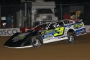 Brian Shirley heads to victory in Friday's MLRA-sanctioned Prelude to the Slocum at 34 Raceway in West Burlington, Iowa. He earned $5,000. (mikerueferphotos.photoreflect.com)