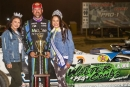 Jonathan Davenport earned April 16's Southern All Star victory at Mountain Motorsports Park in Isom, Ky. (Michael Boggs)