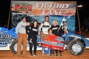 Mack McCarter earned $5,000 in Aprili 17's Steel Block Bandits victory at Smoky Mountain Speedway in Maryville, Tenn. (mrmracing.net)