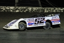 Mitch Keeter grabbed his first Dirt Track Bank Cash Money Super Dirt Series victory May 1 at Salina (Okla.) Highbanks Speedway. (facebook.com/insidetheovalphotography)