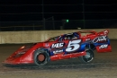 Johnny Collins won May 8's Crate Late Model feature at Volusia Speedway Park in Barberville, Fla. (daveshankphoto.com)