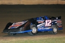 Jamie Elam makes his way around Greenville Speedway during Saturday's MSCCS action. (Best Photography)