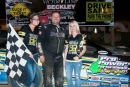 Rick Williams won the AMRA-sanctioned Super Late Model feature May 17 at Beckley (W.Va.) Motorsports Park. (peepingdragonphotography.com)