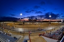 A look at Lucas Oil Speedway from the backstretch Thursday during the Lucas Oil Midwest LateModel Racing Association event. (thesportswire.net)