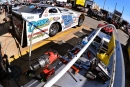 The pit area of Jimmy Mars on Friday at Lucas Oil Speedway before the first night of the 21st annual Show-Me 100. (thesportswire.net)
