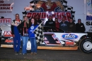 Victor Lee raced to a $3,000 victory in Friday's unsanctioned special event at Ponderosa Speedway. (dt52photos.com)