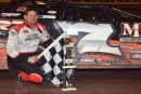 Jason Fitzgerald earned $2,000 on March 8 for his Southern Thunder Late Model Series victory at Golden Isles Speedway near Brunswick, Ga. (Troy Bregy)