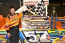 In the first MSCCS race at North Alabama since 2008, Bub McCool of Vicksburg, Miss., earned $3,000 for a flag-to-flag victory. (photobyconnie.com)