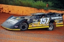 Mike Marlar tunes up at Ponderosa Speedway, where early the next morning he captured the Ultimate-sanctioned John Bradshaw Memorial. (mrmracing.net)